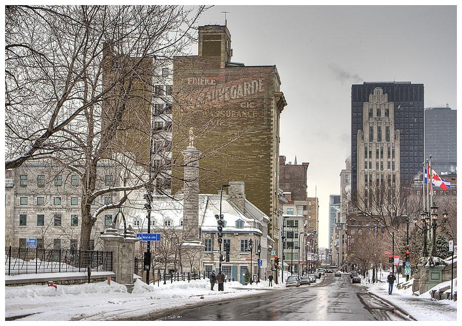 Notre Dame st. Montreal Quebec