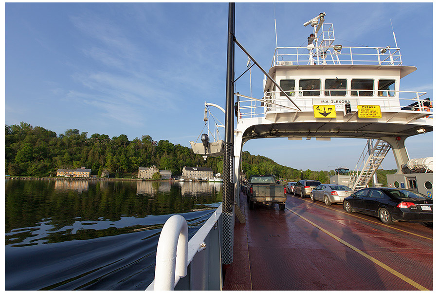 Glenora Ferry to Picton ,Ontario
