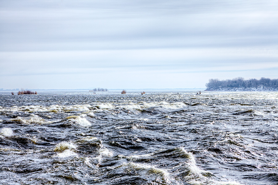 St.Lawrence Rapids Lasalle Quebec